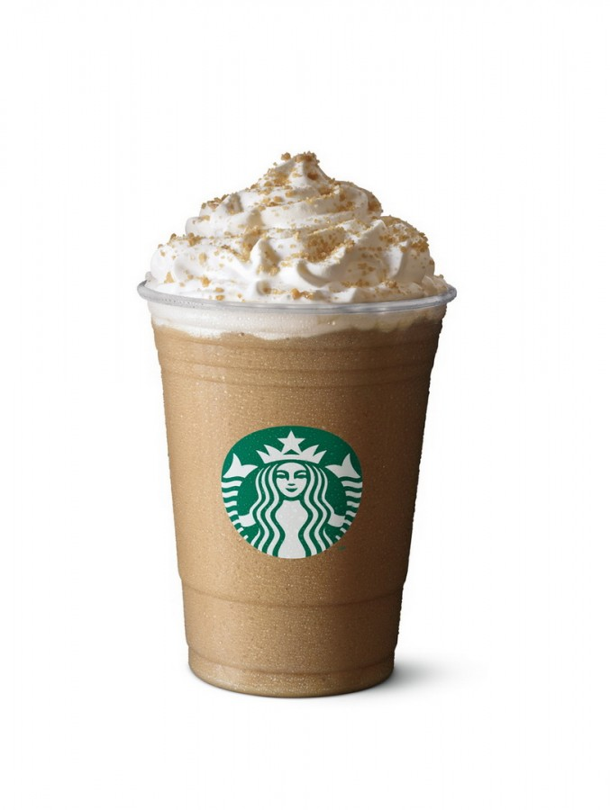 Starbucks Frappuccino Toffee Nut Latte
