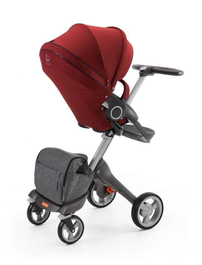Stokke-Stroller-Seat-Style-Kit-Burgundy-with-Xplory-chassis-150429-6042-Black-Melange