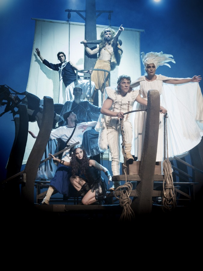 Κερδίστε 5 διπλές προσκλήσεις για την παιδική θεατρική παράσταση «Ο Ιάσονας και το Χρυσόμαλλο Δέρας» στο Θέατρο Badminton (28/12)