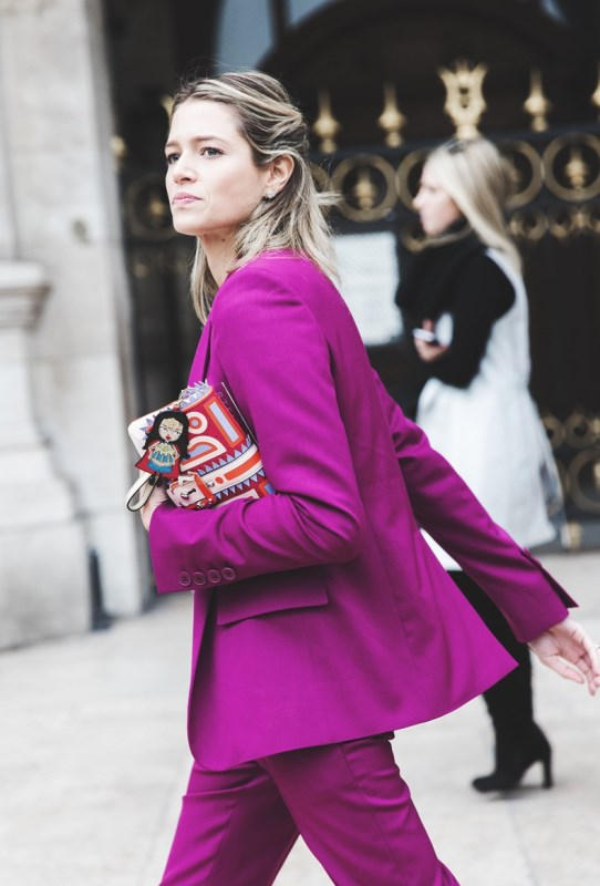 Paris_Fashion_Week-Fall_Winter_2015-Street_Style-PFW-Helena_Bordon-Suite_Pink-Stella_McCartney-790x1185
