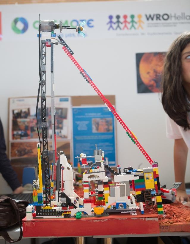 Η ρομποτική κατασκευή της ομάδας Robofantasy (3η θέση)