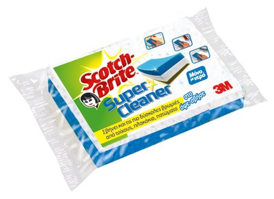 NN000224463 Scotch-BriteÔäó +£+¦+¦+¦+¦+« +ô¤î+++¦ Super Cleaner_P