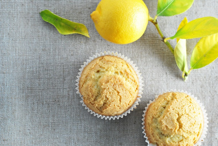 Muffins λεμονιού