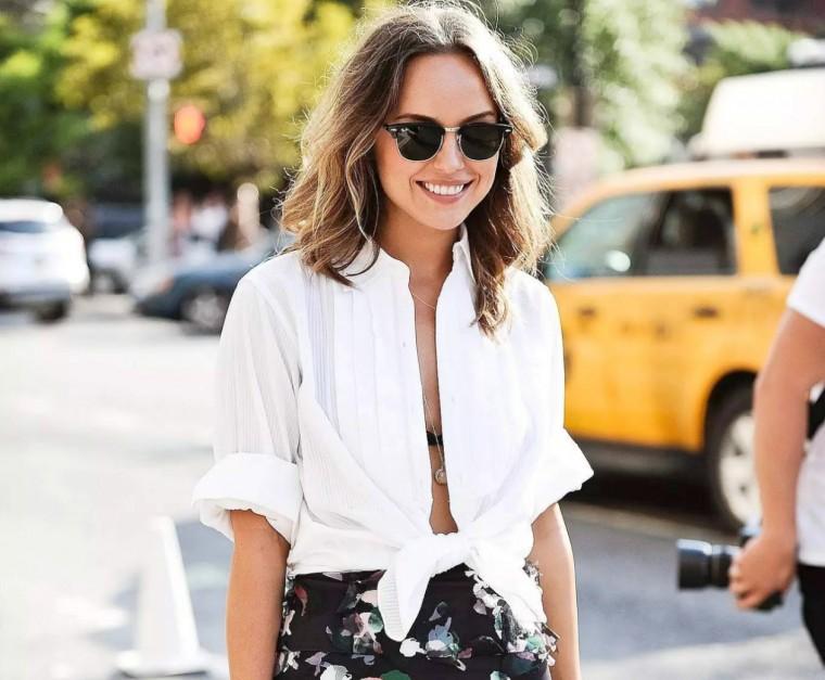 3 τρόποι για να φορέσεις με στυλ το λευκό πουκάμισο  d3d322a3368