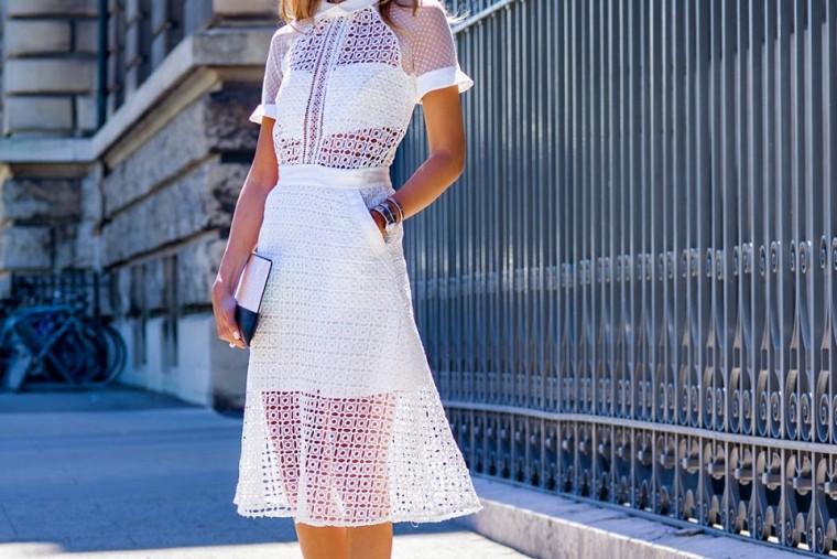 9 τρόποι για να φορέσετε σωστά τη λευκή φούστα  5ebfb973aab