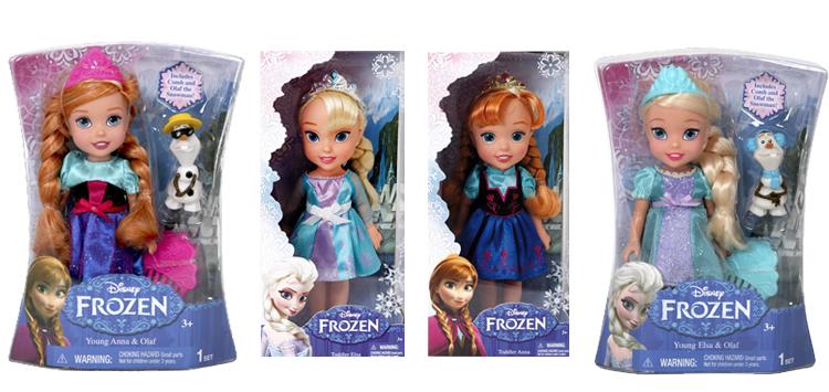 κούκλες Frozen
