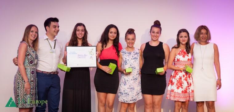 Smileybin: Τα Ελληνόπουλα κέρδισαν τα βραβεία καινοτομίας στην Ευρώπη και Ηγετικής Προσωπικότητας