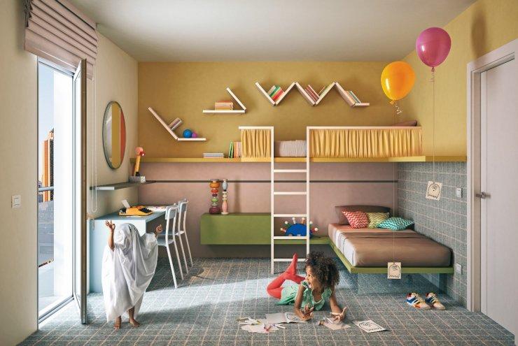 παιδικό δωμάτιο - διακόσμηση
