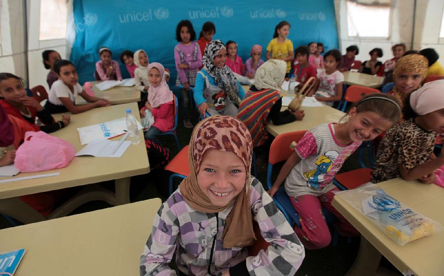 jordan-syrian-girls-school-xinhua