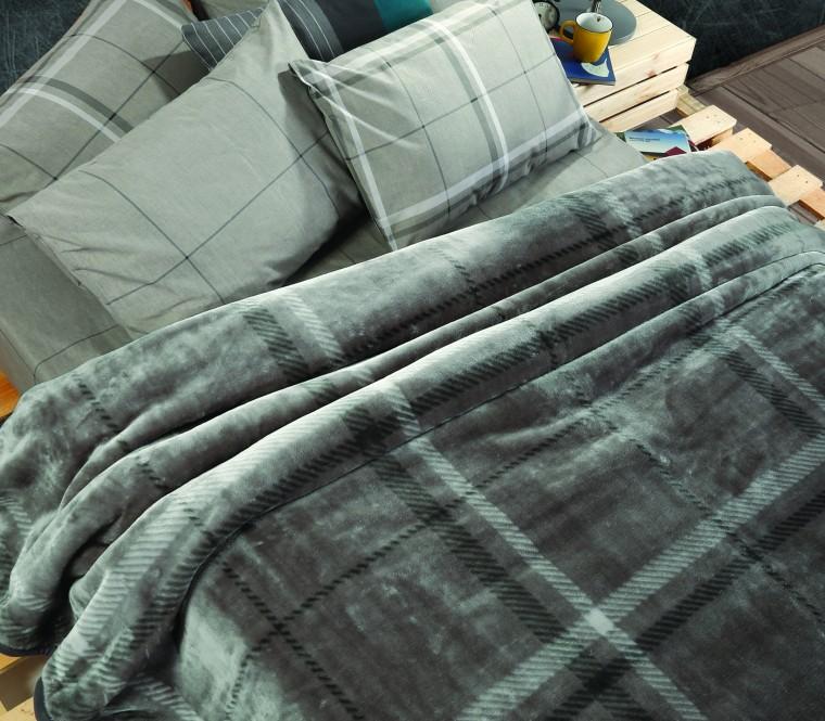 Scotch (Grey) - Κουβέρτα υπ/πλη