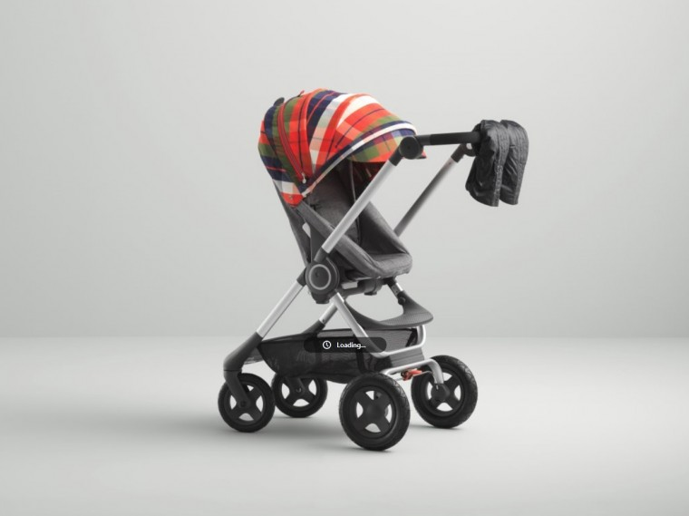 stokke flannel red