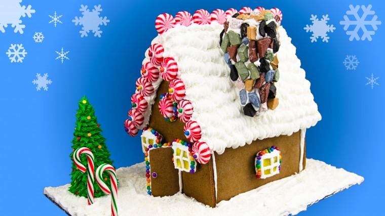 Φτιάχνουμε χριστουγεννιάτικες κατασκευές και ένα τεράστιο μπισκοτόσπιτο στο Παίξε Γέλασε (από 15/12)