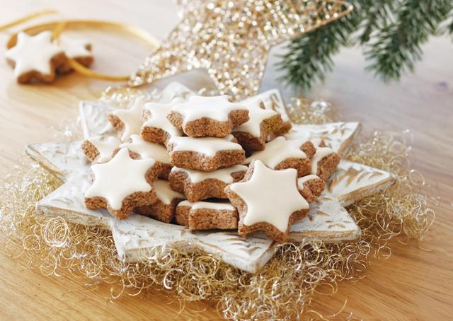 Χριστουγεννιάτικα αστεράκια κανέλας