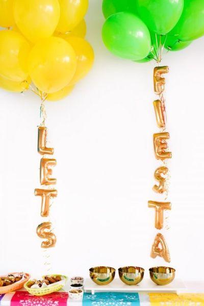 κίτρινα και πράσινα μπαλόνια