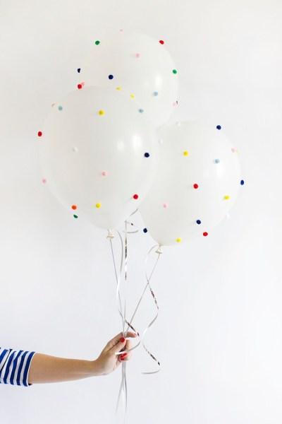 μπαλόνια με σχέδια