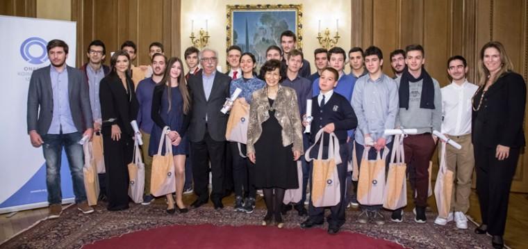 Το Ίδρυμα Ωνάση βράβευσε τους μαθητές που διακρίθηκαν στις Επιστημονικές Ολυμπιάδες – Συνεχίζει τη στήριξη και το 2017