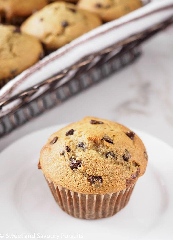 Muffins με σοκολάτα και λεμόνι