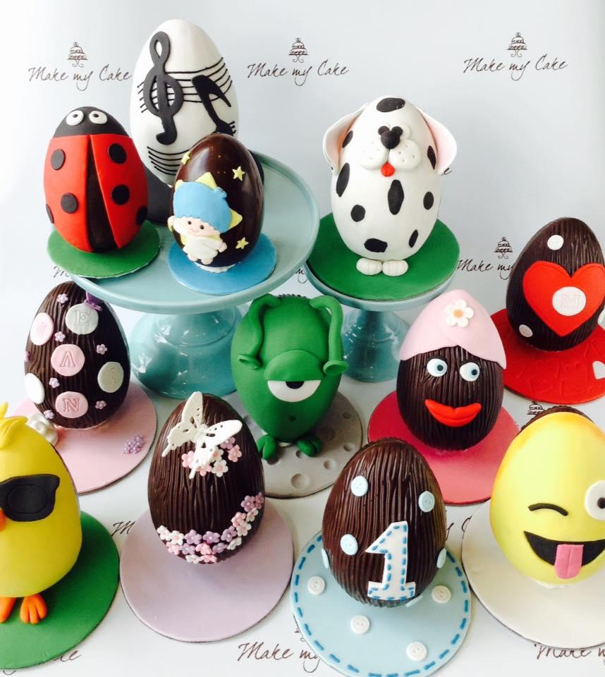 Make my Cake: Τα σοκολατένια αυγά γίνονται έργα τέχνης που κλέβουν τις καρδιές μικρών και μεγάλων
