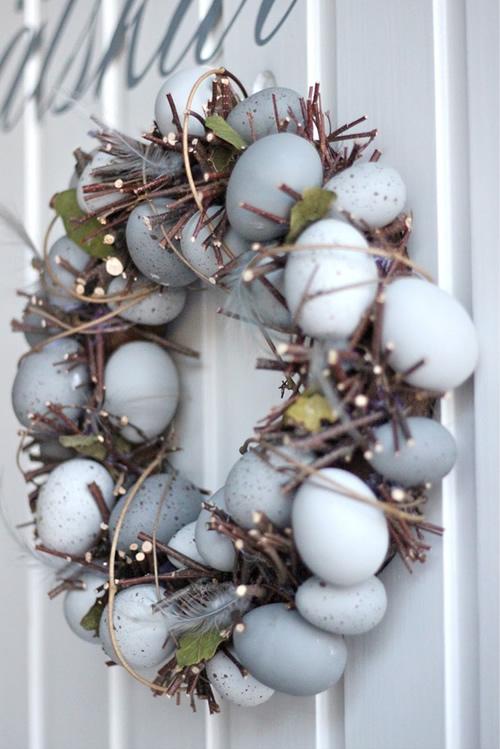 στεφάνι από αυγά