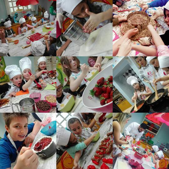 Summer Camp 2017: Λιλιπούτειοι σεφ εν δράσει στο καλοκαιρινό πρόγραμμα του Kids Cooking Club
