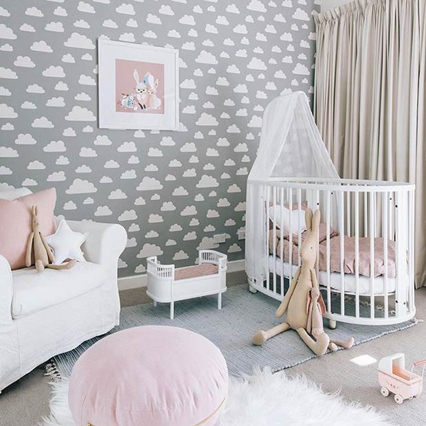 7fc353765a1 Deco: 10 Υπέροχα βρεφικά δωμάτια, για κορίτσια και αγόρια! | InfoKids