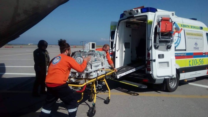 Χαλκιδική: Αεροδιακομιδή δύο παιδιών που τραυματίστηκαν σε τροχαίο