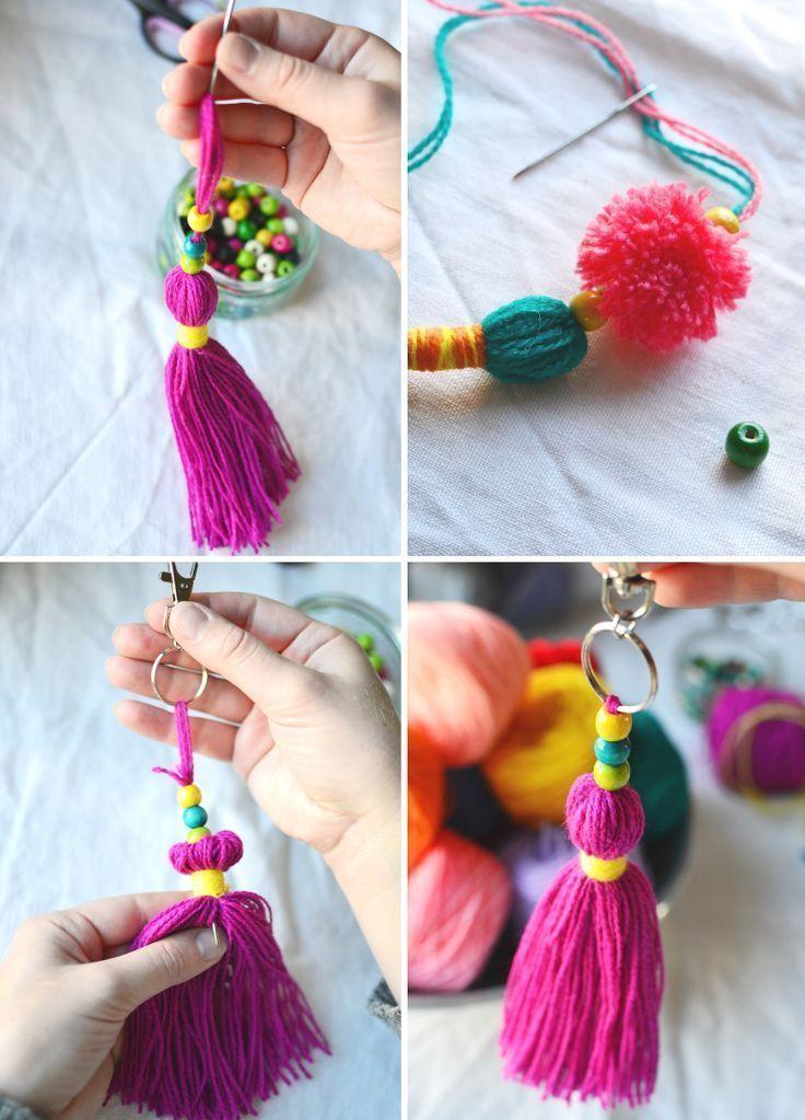 DIY: Φούντες, φουντάκια και κοσμήματα για το καλοκαίρι!
