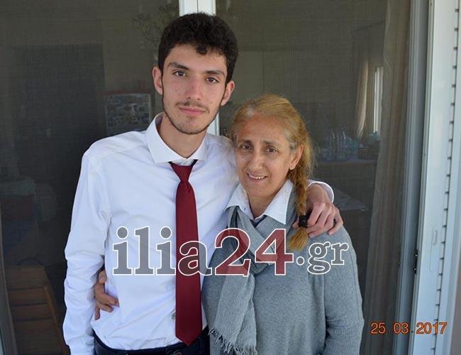 Δρόσος Κονδύλης: Ο μαθητής με αυτισμό από τον Πύργο που συγκέντρωσε 17.090 μόρια στις Πανελλήνιες 2017