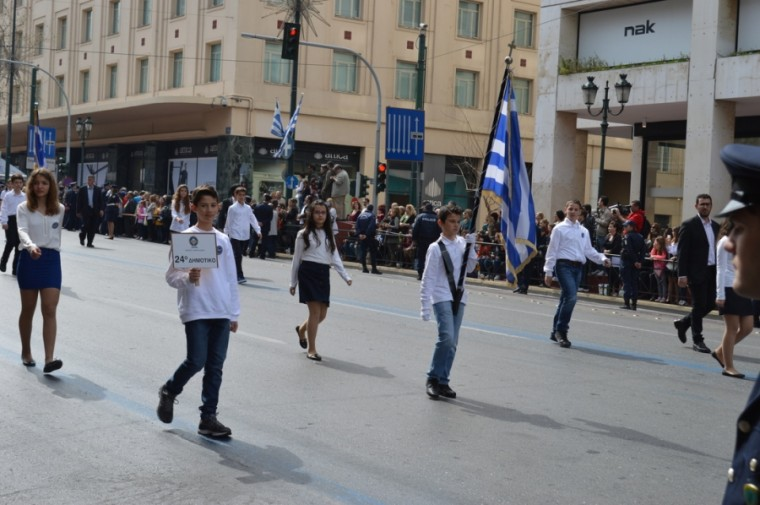 K. Γαβρόγλου: Γιατί ένα παιδί με αναπηρία να μην μπορεί να έχει τη δυνατότητα να γίνει σημαιοφόρος;
