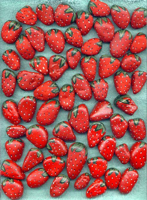 DIY: Φρέσκες φράουλες, λαχταριστές, μια υπέροχη διακοσμητική πρόταση!