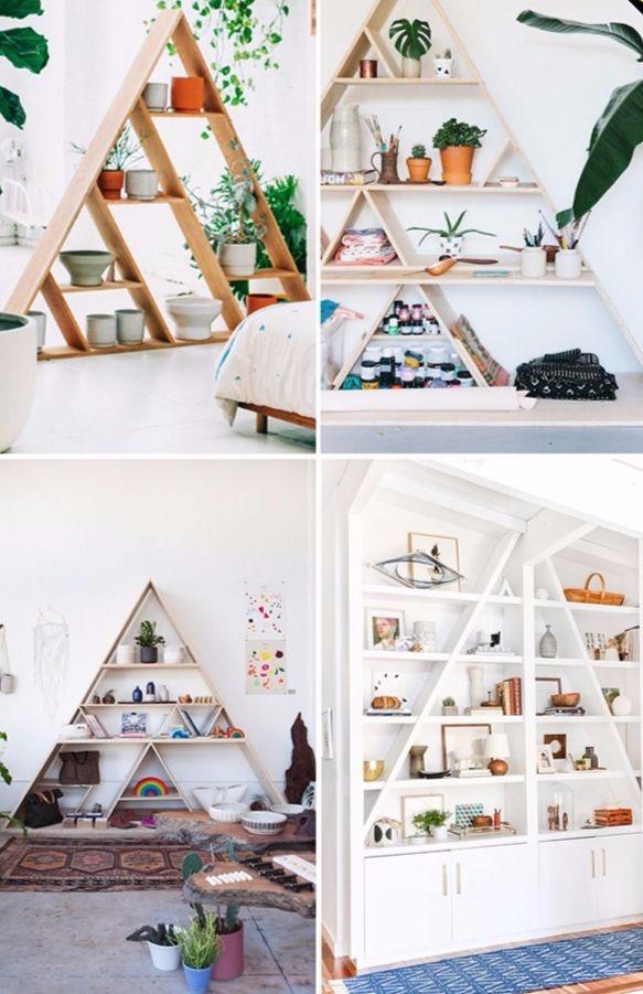 τρίγωνη βιβλιοθήκη
