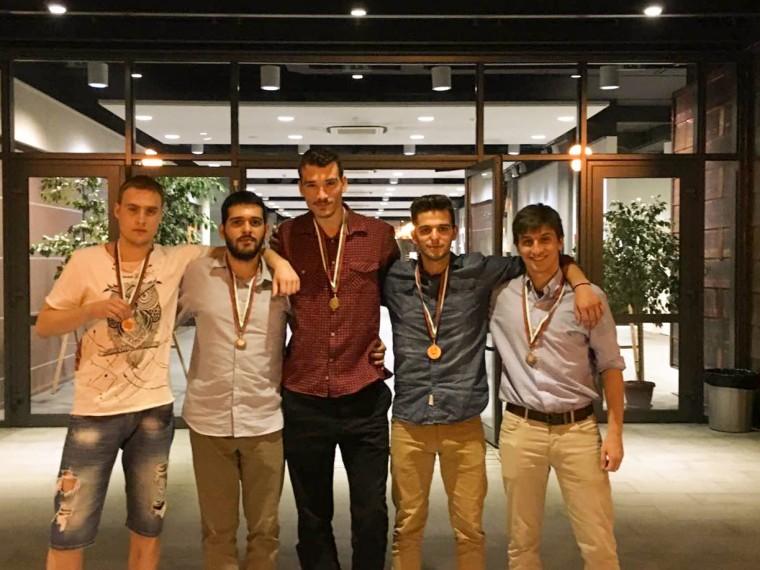 5 μετάλλια κατέκτησαν οι φοιτητές του Μαθηματικού Τμήματος του ΕΚΠΑ στον Φοιτητικό Διαγωνισμό IMC 2017