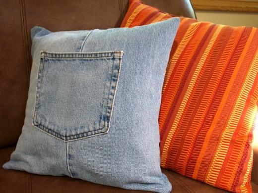 DIY: Καλύμματα από παλαιό τζιν παντελόνι!
