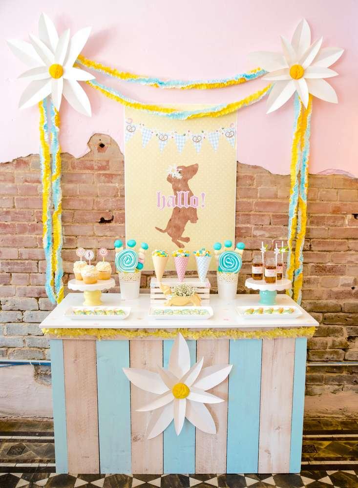 Προετοιμάζω το πάρτι μου: Λουλουδένιο πάρτι με πολλά ζωάκια!