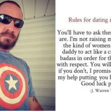 Κανόνες για τα ραντεβού με τον γιο μου