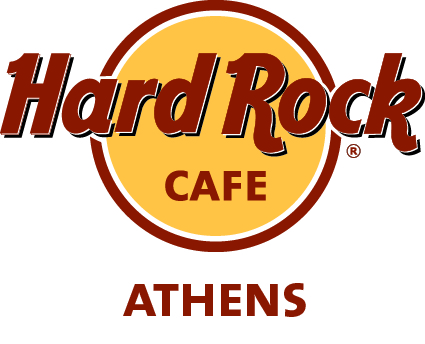 hard rock cafe athens logo