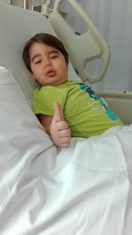 «Όλοι μαζί για τον Χριστόφορο»: Ο 5χρονος έχει όγκο στον εγκέφαλο και χρειάζεται την βοήθειά μας για να συνεχίσει τη θεραπεία του