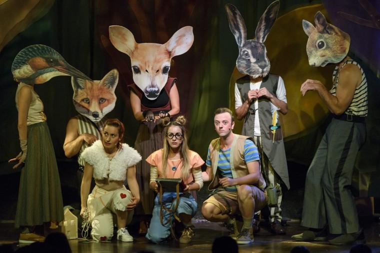Παιδιά, ελάτε στο Γυάλινο Μουσικό Θέατρο για να ταξιδέψουμε στο Δάσος των Γκριμμ (από 22/10)