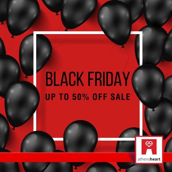 82fc862843 Η λατρεία που έγινε θεσμός λέγεται Black Friday και έρχεται στο athensheart  mall! Κάντε τις αγορές σας σε όλα τα επώνυμα brands με τιμές έως -50% μόνο  την ...