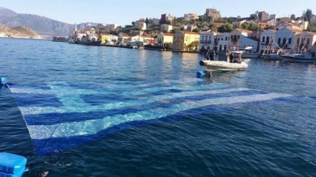 Πού βρίσκεται η μεγαλύτερη υποβρύχια ελληνική σημαία;