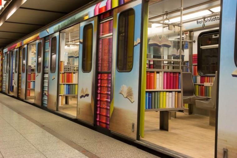 Το Μετρό γεμίζει βιβλία και -ειδικά αν είστε γονείς- ο λόγος σας αφορά!