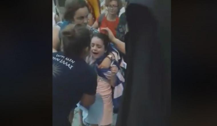 «Μαμά, θέλω να πάω σπίτι»: Κινδύνευσαν μικρά παιδιά στα επεισόδια της ΔΕΘ – Δείτε το video