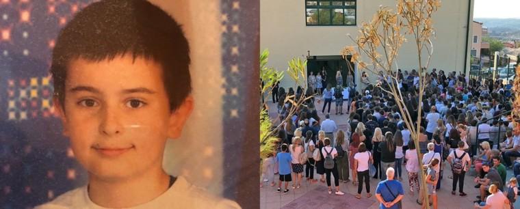 Νέα Μάκρη: Χωρίς τον 13χρονο Δημήτρη ο αγιασμός στο σχολείο του (video)