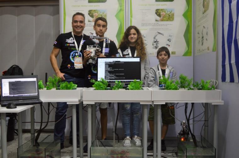 Ολυμπιάδα Εκπαιδευτικής Ρομποτικής World Robot Olympiad: Δύο ελληνικές ομάδες κατέκτησαν την 4η θέση