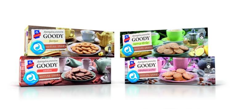 Αλλατίνη Homemade Stories: Τα αγαπημένα μας μπισκότα GOODY έρχονται με δύο νέες υπέροχες γεύσεις