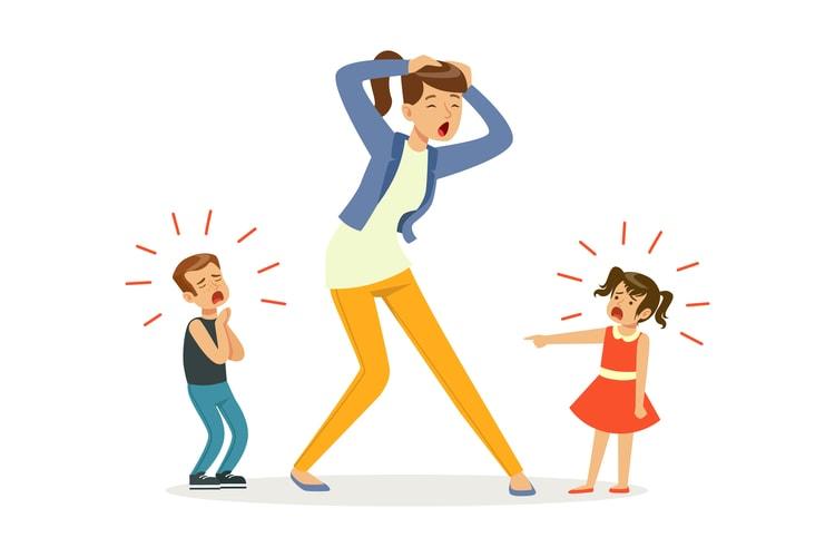Αδερφικοί καβγάδες: Η μεγάλη πρόκληση του να μεγαλώνεις δύο παιδιά