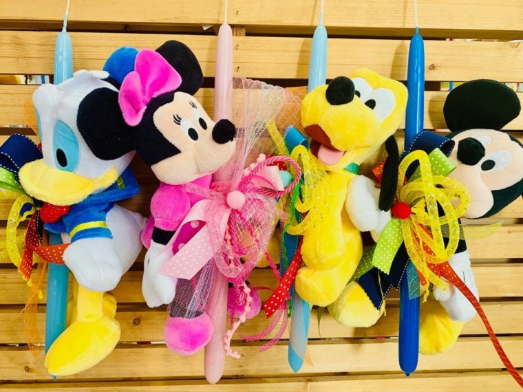 b2ac4536269 Στο mpiztoys.gr θα βρείτε μια μεγάλη γκάμα από λαμπάδες με αγαπημένους  ήρωες όπως αυτοί της Disney, η Hello Kitty, η Gorjuss, τα παιχνιδιάρικα  Minions, ...