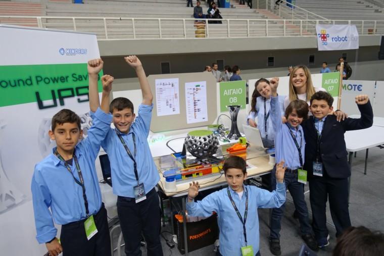Πανελλήνιος Διαγωνισμός Εκπαιδευτικής Ρομποτικής Δημοτικού 2019: Διακρίσεις για τα παιδιά της Εκπαιδευτικής Αναγέννησης