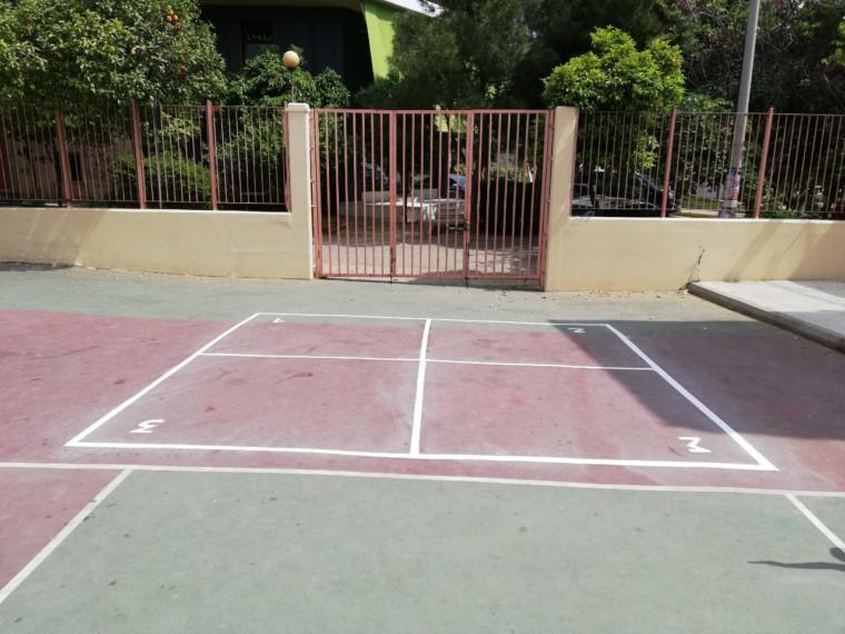 Ένα πρωτότυπο παιχνίδι «χαράχτηκε» στο προαύλιο του 7ου Δημοτικού Σχολείου Βύρωνα