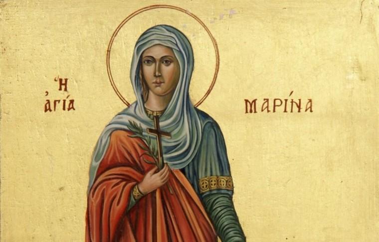 Αγία Μαρίνα: Ο βίος της προστάτιδας των φιλάσθενων παιδιών